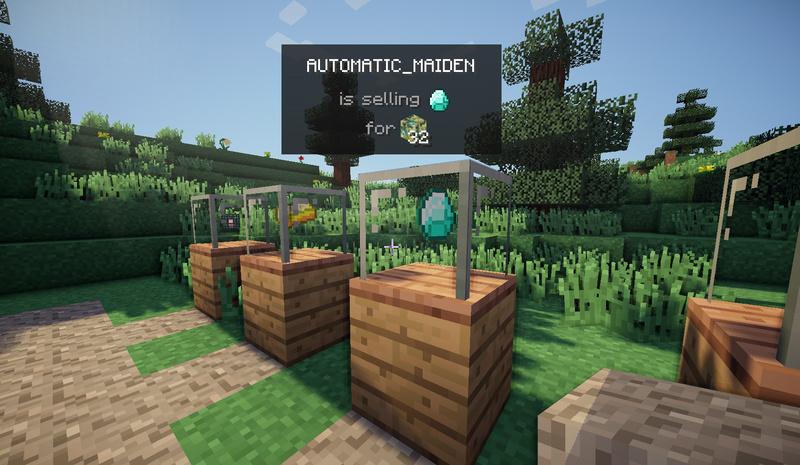 Как создать свой магазин в minecraft 152